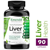 Liver Health – with Silymarin Milk Thistle & Meriva® Phytosome – Promotes Liver Health, Weight Management, Cleanse – Emerald Laboratories – 90 Vegetable Capsules For Sale