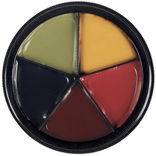 [Mehron Makeup Pro ColoRing (5 Color Ring) BRUISE Wheel for Special Effects| Halloween| Movies] (White Dress Up Ideas)