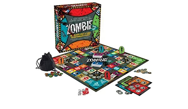 Zombie Road Trip Board Game by Aquarius: Amazon.es: Juguetes y juegos