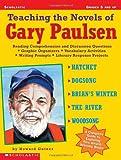 Teaching the Novels of Gary Paulsen, Howard Gutner, 0439098408
