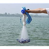 American Saltwater Fishing Cast Net for Bait Trap...
