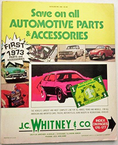 J C  Whitney   Co Automotive Parts   Accessories Catalog 1973  Catalog No  306