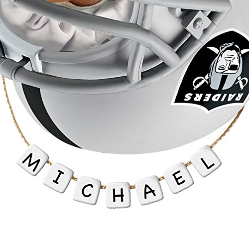 Oakland Raiders Christmas Ornaments.Nfl Oakland Raiders Personalized Baby S First Christmas