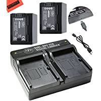 BM Premium 2 BP-727 Batteries and Dual Charger for Canon Vixia HFR80 HFR82 HFR800, HFR70, HFR72, HFR700, HFR32, HFR300, HFR40, HFR42, HFR400, HFR50, HFR52, HFR500, HFR60, HFR62, HFR600 Camcorder