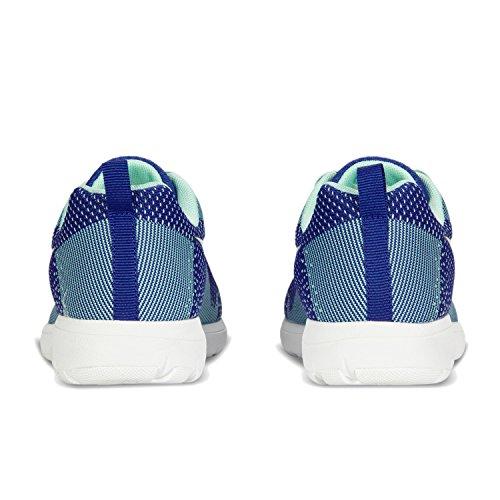 Diadora X Run Light W, Chaussures de Running Femme C0413 - Ultramarine-BLANC OPTIC