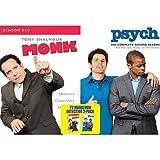 TV Marathon Detective 2-Pack - Monk: Season 6/Psych Season 2