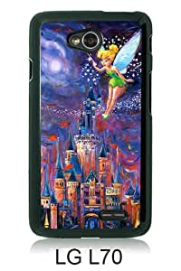 TinkerBell 1 Black Newest Customized LG L70 Phone Case