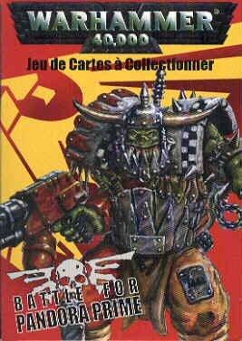 (Warhammer 40,000 Battle for Pandora Prime CCG - Orks Starter Deck)
