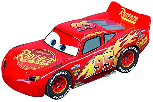 Carrera 27539 Evolution Analog Slot Car Racing Vehicle - Disney Pixar Cars 3 - Lightning McQueen - (1: 32 Scale), Red