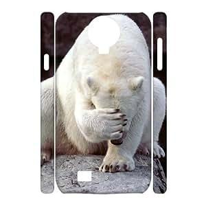 ANCASE Cell phone Cases Polar Bear Hard 3D Case For Samsung Galaxy S4 i9500