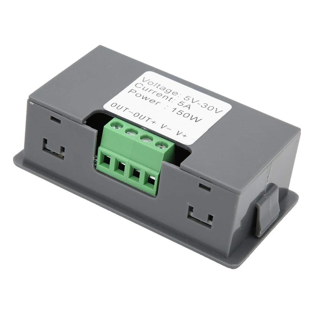 Digitalanzeigen-Encoder 150W 5V 12V 24V DC LED-Dimmmodul steuerbarer Arbeitszyklus und Betriebsfrequenz PWM-Motordrehzahlregler