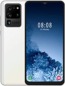 fosa1 MTK6580P Quad-core 6.7in Drop Screen Smartphone, Support Face Recognition/Fingerprint Unlock Mobile Phone Dual Card Dual Standby 800W Front 1300W Rear Camera with 128GB TF Card(Not Include)