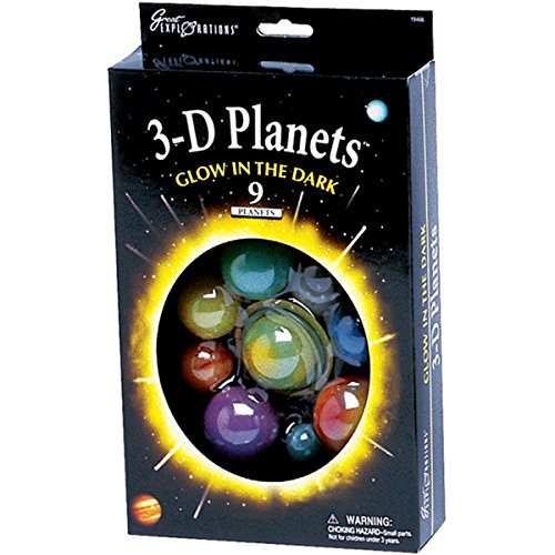 Great Explorations 3 D Planets  Box