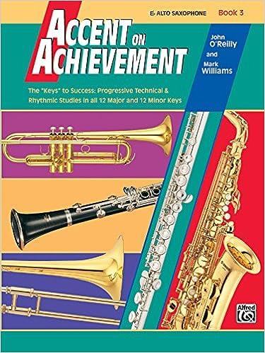 accent on achievement book 3 e flat alto saxophone