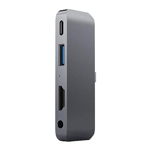 CHshe®-☆-Adaptador Tipo C Mobile Pro Hub Adaptador Pd Carga 4K ...