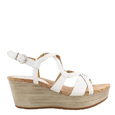 aec8d4844c Amazon.com   BareTraps Women's Mairi Wedge Sandals   Flip-Flops