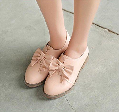 Ms Spring zapatos elevadores zapatos del estudiante plana zapatos de la princesa arquean los zapatos , US5.5 / EU35 / UK3.5 / CN35