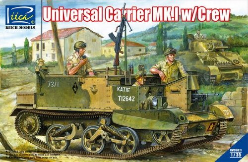 Universal Carrier Mk.I with Crew MODEL KIT ()