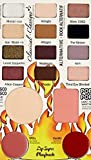 ADS Balm Jovi Rockstar Face Palette (12 Eyeshadow, 1 Blusher, 1 Compact, 2 Lipstick)
