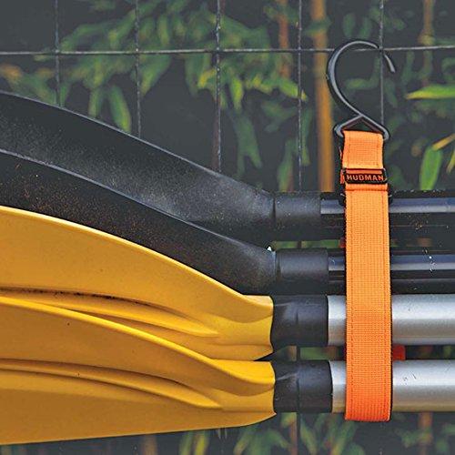 Hudman Works Strap & Hook XL, Bright Orange, 50'' by Hudman Works (Image #7)