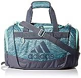 adidas Defender III Duffel Bag, Clear Mint Jersey Fleck/Onix/Clear Mint, One Size