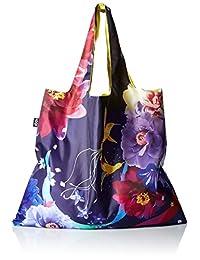 LOQI SN.HU Reusable Tote Bag Shinpei Naito Hummingbirds Print, Multi, United States Carry-On