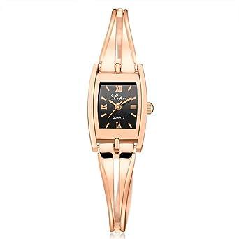 Amazon.com: siviki lindo lvpai – Reloj de reloj para mujer ...