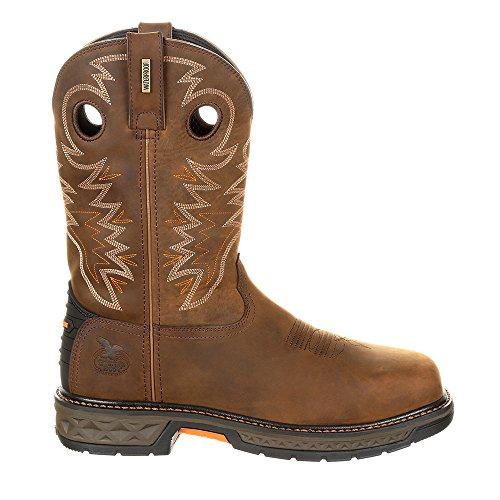 Work Georgia Carbo GB00224 Square Brown Boot Waterproof Brown Mens Tec P5RqZr5w