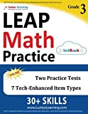 LEAP Test Prep: 3rd Grade Math Practice Workbook and Full-length Online Assessments: LEAP Study Guide
