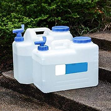 Kentop El Tanque de Agua del Cubo port/átil del Recipiente Cubo de Almacenamiento de Agua al Aire Libre 10L