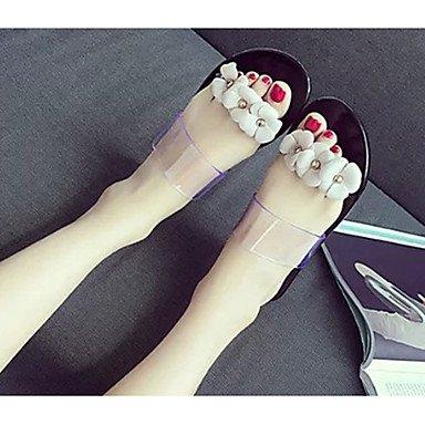 Pu Black 7 Us6 Flat Slingback Casual Heel Walking Summer Blushing 5 Boots 5 Uk4 Pink Blushing Beading Slouch Flat Boots Women'S Eu37 Slouch RTRY Pink Cn37 Slingback 5 Sandals xwZC1Xq