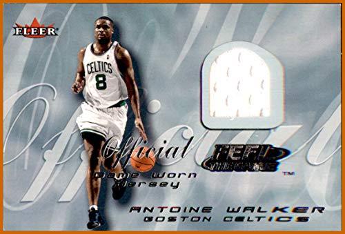 2000-01 Fleer Feel the GAME USED JERSEY# 35 Antoine Walker BOSTON CELTICS