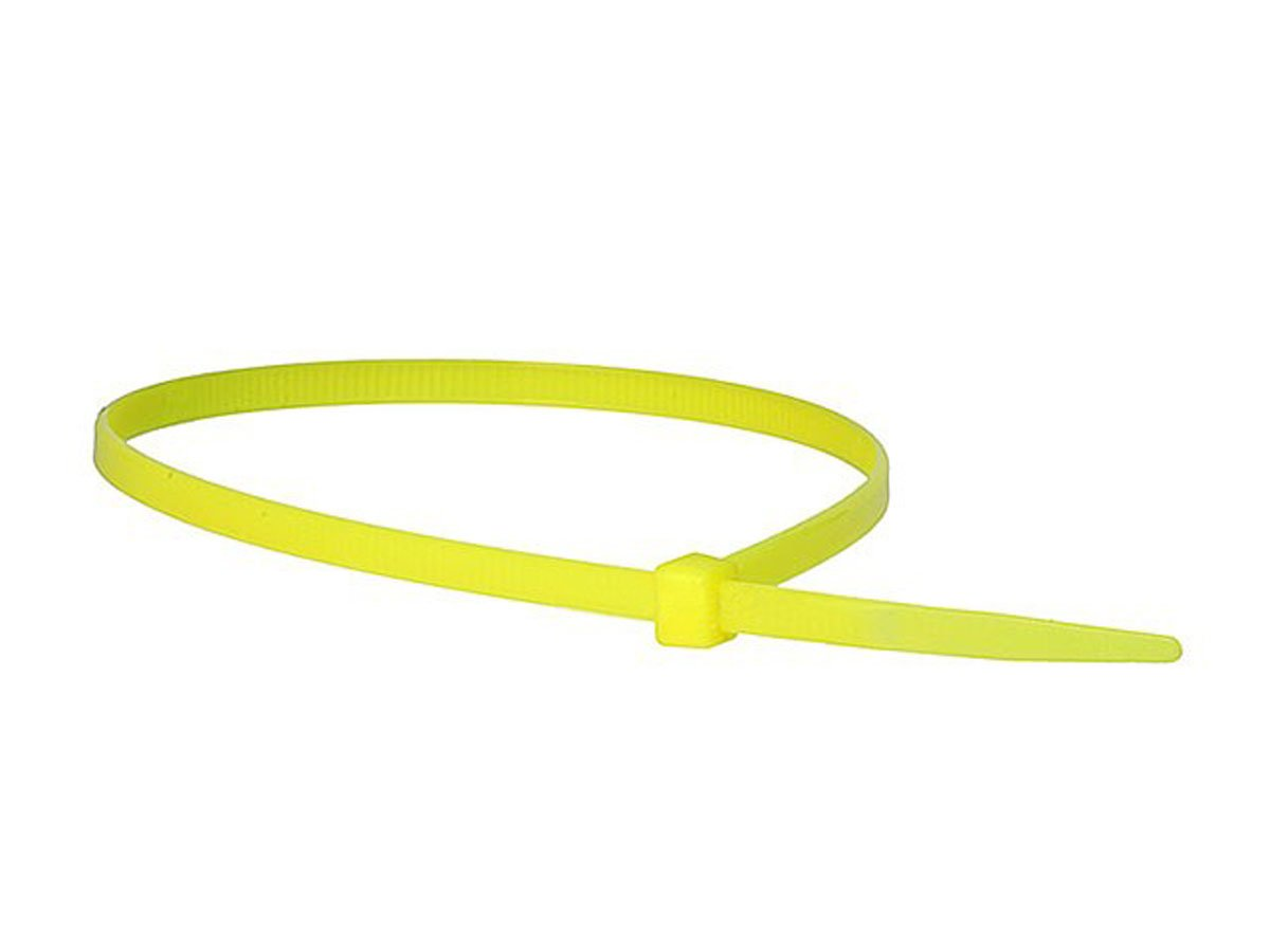 Monoprice 105766 8-Inch 40LBS Cable Tie, 100-Piece/Pack, Green