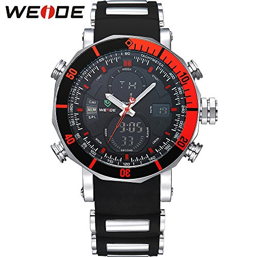 Watch Men Sports Luxury Logo Analog Quartz Digital Alarm Stopwatch Big Clock For Man (Halloween Costume Winners)