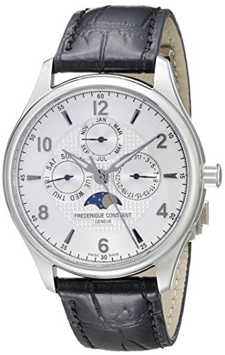Frederique Constant Men's FC365RM5B6 Runabout Analog Display Swiss Automatic Black Watch