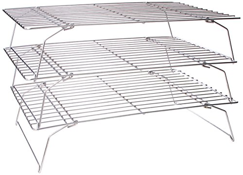 Fox Run Stackable 10-Inch by 14-Inch Cooling Rack Set