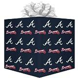 MLB Atlanta Braves Wrapping Paper, Health Care Stuffs