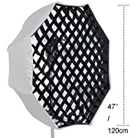 Tyoungg 47 Lightbox Softbox Beehive Octagon Grid Net