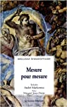 Mesure pour mesure par Shakespeare
