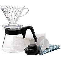 Hario V60 kahve servisi 17,3 x 24,5 x 13 cm Siyah VCSD-02B-EX
