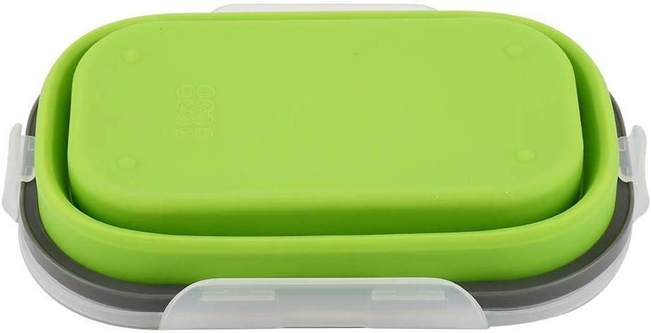 Zerodis confezioni alimentari silicone qualit/à alimentare pieghevole Confezione ermetica Contenitori Alimenti perfetto per Stoccaggio cibo casa lavoro campeggio viaggio