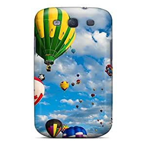 Top Quality Rugged Hot Air Balloons Case Cover For Galaxy S3
