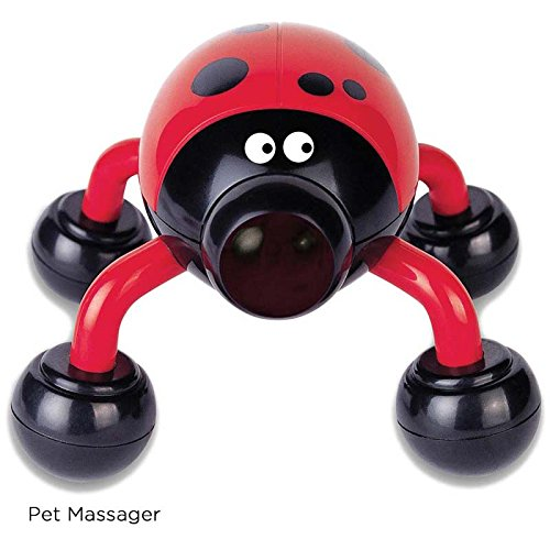 Lady Buzz Pet Massager – Vibration or Massage – Helps to Organize Sensory Information – Calms and Relaxes – Ages 3+