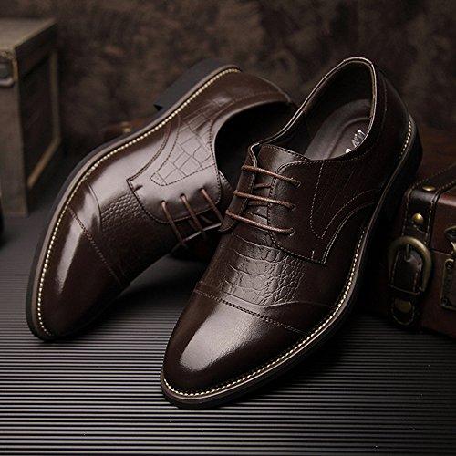 Hommes Bout Pointu Chaussures Uniformes D'affaires Formelle Bout Bout Formelle accae9