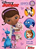Disney Junior Doc McStuffins: Let's Be Friends: Gigantic Book to Color with Stickers