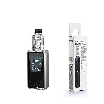 Eleaf Tessera 150W TC Kit 3400 mAh ELLO TS 2mL Atomizador (Plata) Cigarrillo Electrónico