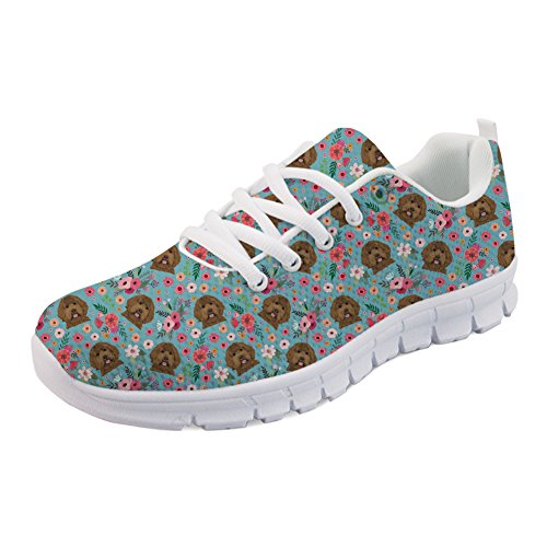 Coloranimal H986AQ6 Niedrig K Labradoodle Flower Damen xSwx0rZ