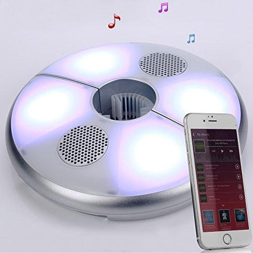 Kingstar Patio Led Umbrella Light Bluetooth Speaker Rechargeable