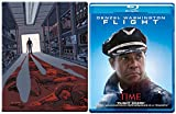 The Equalizer Steelbook + Flight Blu Ray 2 Pack Denzel Washington Double Feature Bundle Action Movie Set
