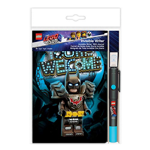 The LEGO Movie 2 Invisible Writer Pen with Batman Notebook